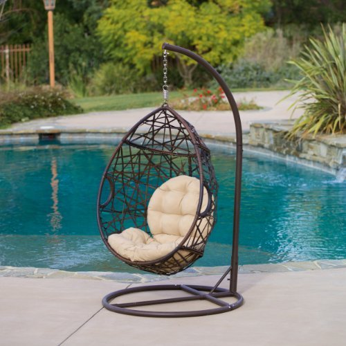 Swing Egg Stoel.Patio Egg Chair