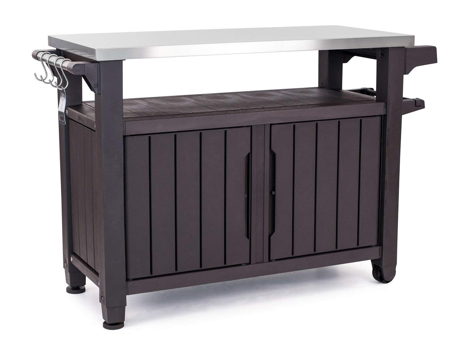 Merveilleux [Reviews]Keter Unity XL Indoor Outdoor Entertainment BBQ Storage Table